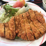 紀乃川 - 紀乃川食堂(あぐーロースカツ定食)