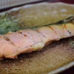 やしろ食堂 - 鮭の塩麹焼き