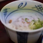 やしろ食堂 - 山芋納豆