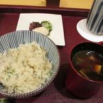 松由 - 白身魚のご飯