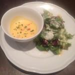 il luogo di TAKEUCHI - スープ+サラダ
