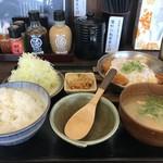 本家しんべぇ - 料理写真:かつとじ定食850円(税込)です(2018.10.25)