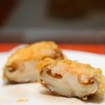 天ぷら ひさご - 椎茸エビ詰め