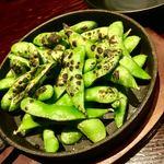 金山肉割烹 肉の権之助 - 燻製枝豆