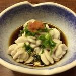 魚繁 - 白子ポン酢