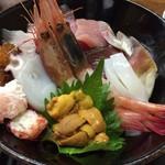 魚繁 - 海鮮丼