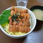 お食事処 大漁 - ウニ丼