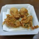 お食事処 大漁 - 牡蠣の天ぷら