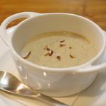SAISIR - サツマイモの温かいスープ