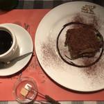 キャンティ トレ - ティラミスとコーヒー