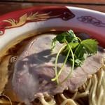 Japanese Ramen Noodle Lab Q - しっとりチャーシュー(大つけ麺博2018第四陣)