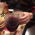 95238736 - ピノ・ノワール  ちょっと濃いめのワインで頂きます