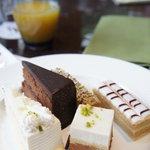 ザ・テラス - 一皿目♪まずはケーキをいただきます!(2011/3)