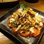 地鶏庵 - バンバンジーサラダ