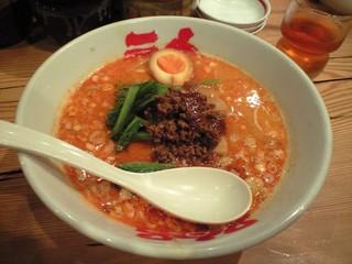拉麺屋神楽 米子店 - 神楽 米子店・坦々麺 タイムサービスで¥500(2011.09)