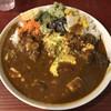 ヤドカリー - 料理写真:牛すじカリー(中辛)のヤドカリースペシャル(1,000円)