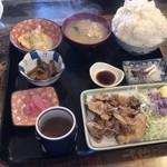 定食の店 牛太郎 - 普通盛り