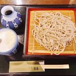 茶房 古蓮 - せいろ蕎麦様(830円)