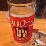 酒処 さぶちゃん - 「カップ酒」399円也。