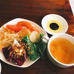 レオンビアンコ - サラダとスープ