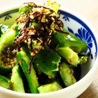 県内産の新鮮な野菜を使用