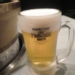 ジュジュハット - 生ビール:600円