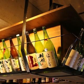 ◆地酒は常時30種以上◆串カツ・おでん・海鮮と合う銘酒あり〼