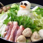 鶏塩みぞれ鍋(3~4人前)