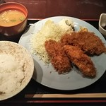 95259301 - カキフライ定食 2,260円♪
