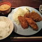 95259303 - カキフライ定食 2,260円♪