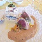 porutofa-ro - 前菜/かつおのたたき風カルパッチョとキャビア