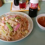 長崎亭 - 皿うどん(細麺)