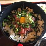 尾張屋 - ネギトロ丼セット790円のネギトロ丼
