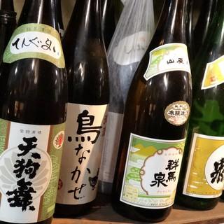 月~木曜日限定★47都道府県の地酒がなんと500円均一!