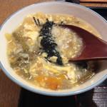京のそば処 花巻屋 - 一口だけ食べた