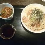 95264996 - 肉うどんとミニ丼のセット¥850(18-10)