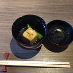 magokorosousakushigeta - 五島うどんランチコース1,944円、椀物