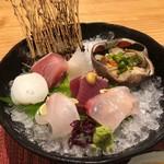 馳走和醸 すぎ - 岩手の牡蠣、カンパチ、鰤、水蛸、カツオ、クエのお造り