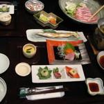 白馬ひふみ - 料理写真:夕食