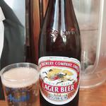 らーめん専門 和海 - 中瓶ビール ¥450- キリンラガー アサヒスーパードライから選べます (2018/10/25)