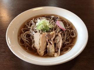 麺処 いばらき - 肉そば 大盛 ¥700