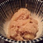 雪月風花 - 土鍋炊き栗ご飯