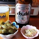 ぼたん鍋処 如月庵 - 黒枝豆 アサリのしぐれ煮