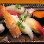 玄海鮨 - 今日の竹にぎり (1100円)