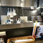 いずみカリー - 厨房センター。