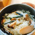 食事処 一休庵 - 料理写真:炊き上がりましたー