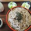 安比丸大食堂 - 料理写真:ざるそば600円