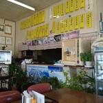 安比丸大食堂 - 厨房側