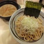 つけ麺 京都わたなべ - つけ麺(太麺(並)・辛肉ミンチMIX)