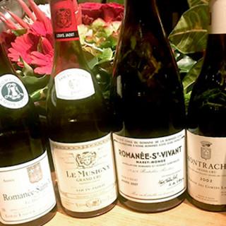料理との相性を考え抜いた、至高のワインコレクション!